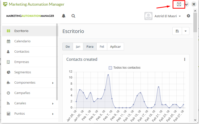 Escritorio Automation Manager